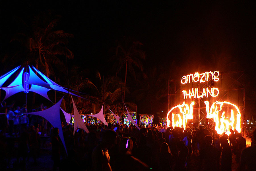 Full Moon party en Koh Phangan