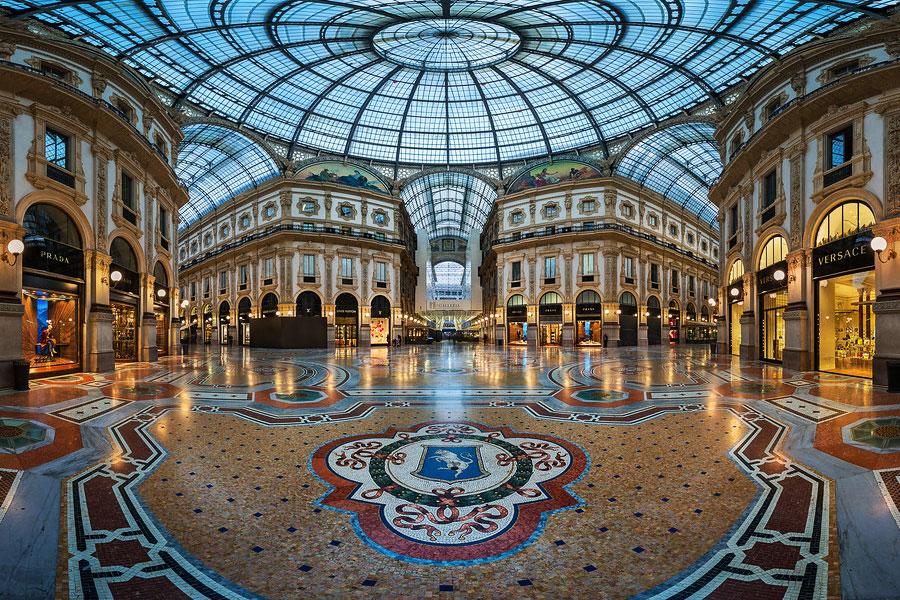 Galeria Vittorio Emanuelle Milán