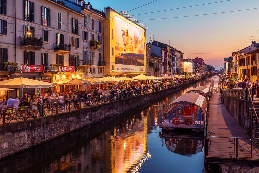 Barrio Navigli Milán