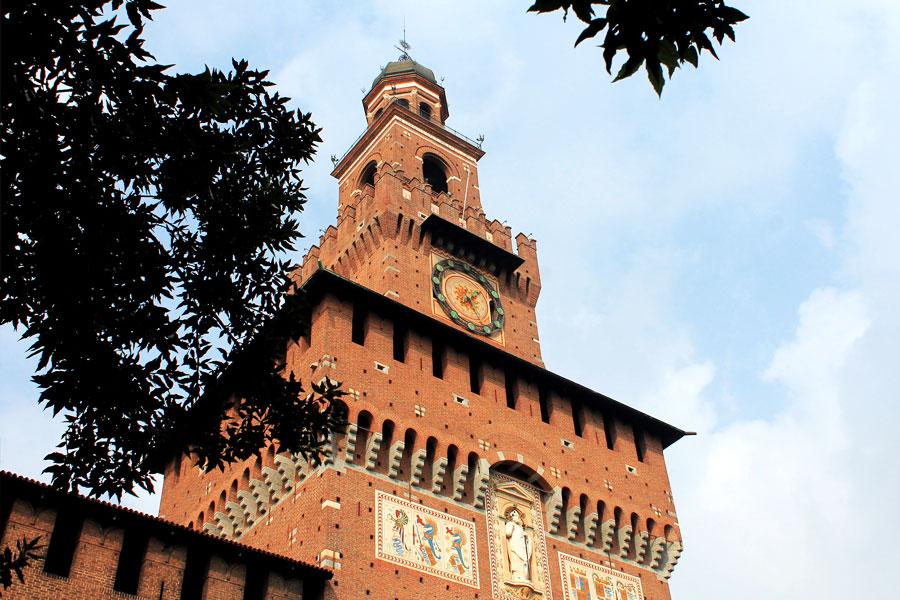 Castillo Sforzesco Milán
