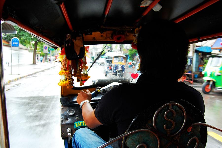 Paseo en Tuk Tuk por Bangkok