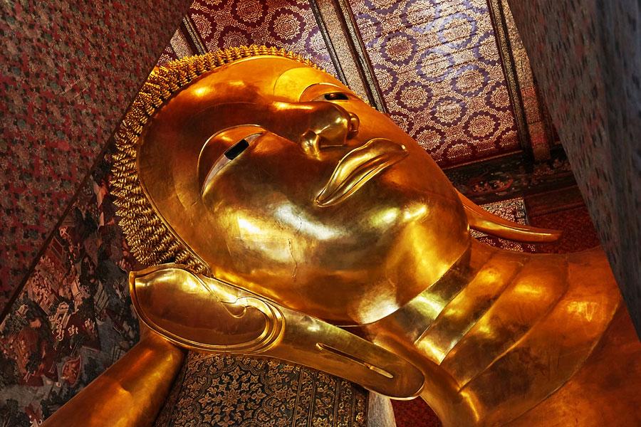Templo Buda Reclinado Bangkok